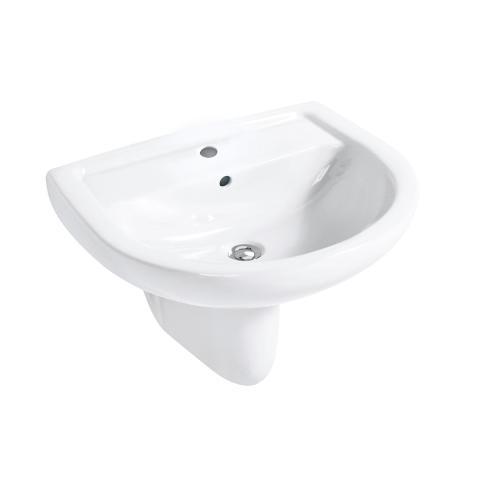 Umywalka ścienna 66 cm CLIVIA