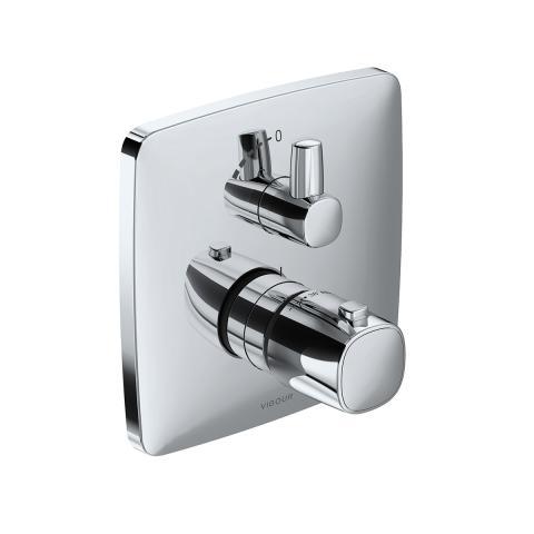 Podtynkowa termostatyczna bateria natryskowa WHITE