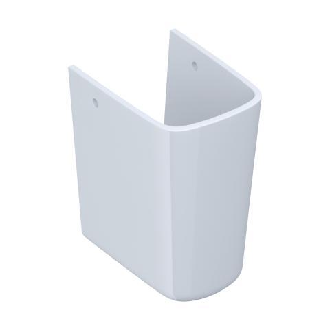 Półpostument WHITE do umywalki 50