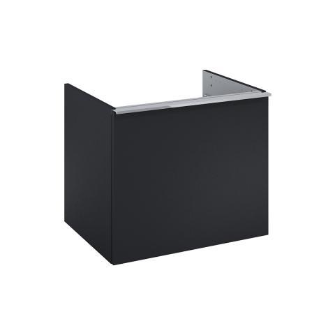 Szafka podumywalkowa 60 cm do WHITE, 1 szuflada czarny mat